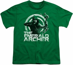 Arrow TV Show on CW youth teen t-shirt Archer kelly green