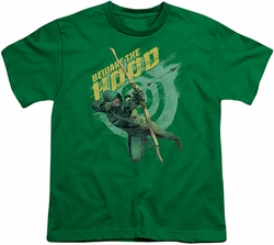 Arrow TV Show on CW youth teen t-shirt Beware kelly green