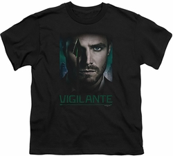 Arrow TV Show on CW youth teen t-shirt Good Eye black