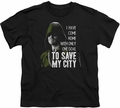 Arrow TV Show on CW youth teen t-shirt Save My City black