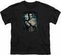 Arrow TV Show on CW youth teen t-shirt Shirtless black