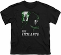 Arrow TV Show on CW youth teen t-shirt Star City Defender black