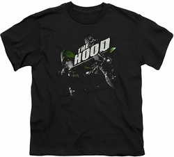 Arrow TV Show on CW youth teen t-shirt Take Aim black