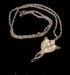 Arwen Evenstar Pendant Lord of the Rings: costume accessory