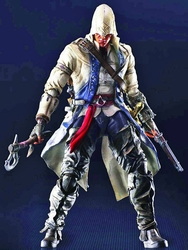 Assassins Creed III Connor action figure Play Arts Kai