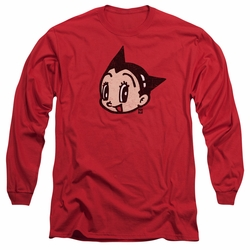 Astro Boy adult long-sleeved shirt Face red