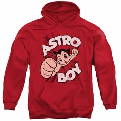 Astro Boy pull-over hoodie Flying adult red