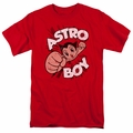 Astro Boy t-shirt Flying mens red