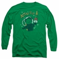 Astro Pop adult long-sleeved shirt Astro Boy kelly green