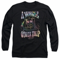Astro Pop adult long-sleeved shirt Space Popssdey black