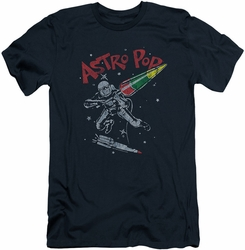 Astro Pop slim-fit t-shirt Space Joust mens navy