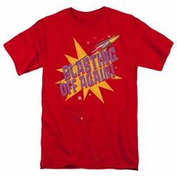 Astro Pop t-shirt Blast Off mens red