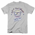 Astro Pop t-shirt Out Of The World mens silver