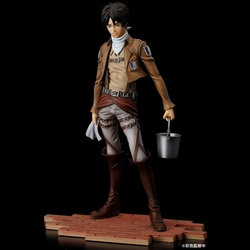 Attack on Titan Brave Act Eren Jaeger Cleaning  version Action Figure Pre-Order