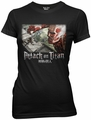 Attack on Titan Wall Battle with Logo juniors t-shirt pre-order