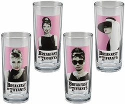 Audrey Hepburn 4 pc. 10 oz. Glass Set