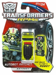 Autobot Ratchet Transformers RPM commander series
