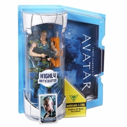 Avatar Col. Miles Quaritch 6 inch delux action figure Movie Masters