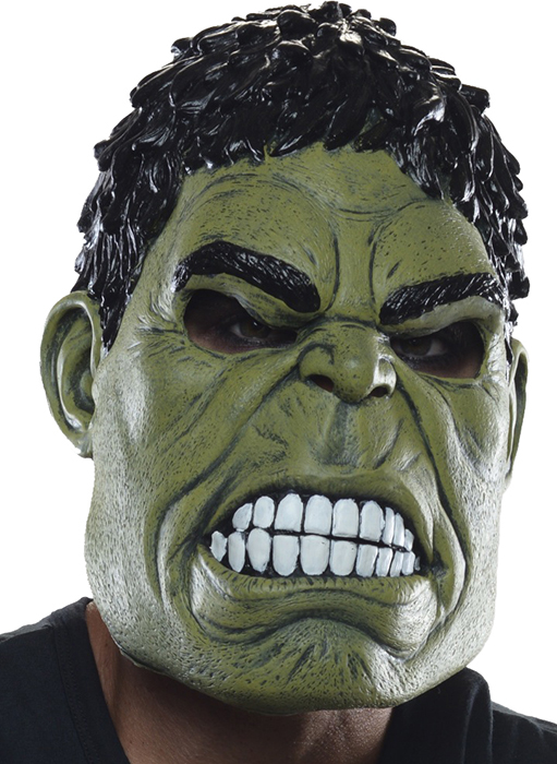 sc 1 st  Urban Collector & Avengers 2 Incredible Hulk 3/4 adult mask