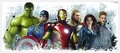 Avengers Age Of Ultron Giant Wall Decal pre-order