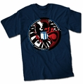 Avengers Hidden Hydra Shield Logo mens t-shirt