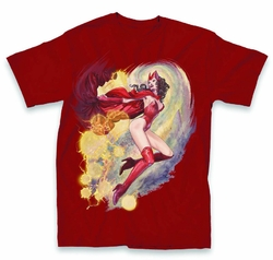 Avengers Scarlet Witch Px Cardinal T-Shirt