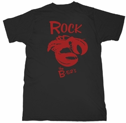 B-52's Mens soft t-shirt Rock Lobster black