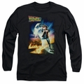 Back To The Future adult long-sleeved shirt Poster black
