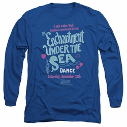 Back To The Future adult long-sleeved shirt Under The Sea royal
