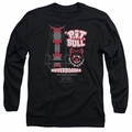 Back To The Future II adult long-sleeved shirt Pit Bull black