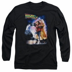 Back To The Future II adult long-sleeved shirt Poster black