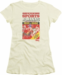 Back To The Future II juniors t-shirt Sports Almanac cream