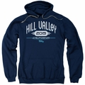 Back To The Future II pull-over hoodie Hill Valley 2015 adult navy