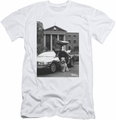 Back To The Future II slim-fit t-shirt Einstein mens white