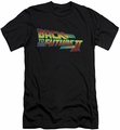 Back To The Future II slim-fit t-shirt Logo mens black