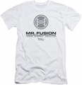 Back To The Future II slim-fit t-shirt Mr. Fusion Logo mens white