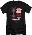 Back To The Future II slim-fit t-shirt Pit Bull mens black
