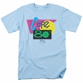 Back To The Future II t-shirt Cafe 80'S mens light blue