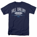 Back To The Future II t-shirt Hill Valley 2015 mens navy