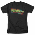 Back To The Future II t-shirt Logo mens black