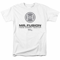Back To The Future II t-shirt Mr. Fusion Logo mens white