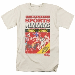 Back To The Future II t-shirt Sports Almanac mens cream