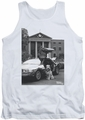 Back To The Future II tank top Einstein mens white