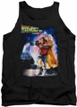 Back To The Future II tank top Poster mens black