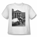 Back To The Future II youth teen t-shirt Einstein white