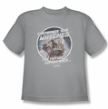 Back To The Future II youth teen t-shirt Synchronize Watches silver
