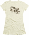 Back To The Future III juniors t-shirt Palace Saloon cream