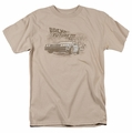 Back To The Future Iii t-shirt Carboys And Indians mens sand