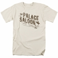 Back To The Future III t-shirt Palace Saloon mens cream