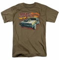 Back To The Future III t-shirt Wild West mens safari green